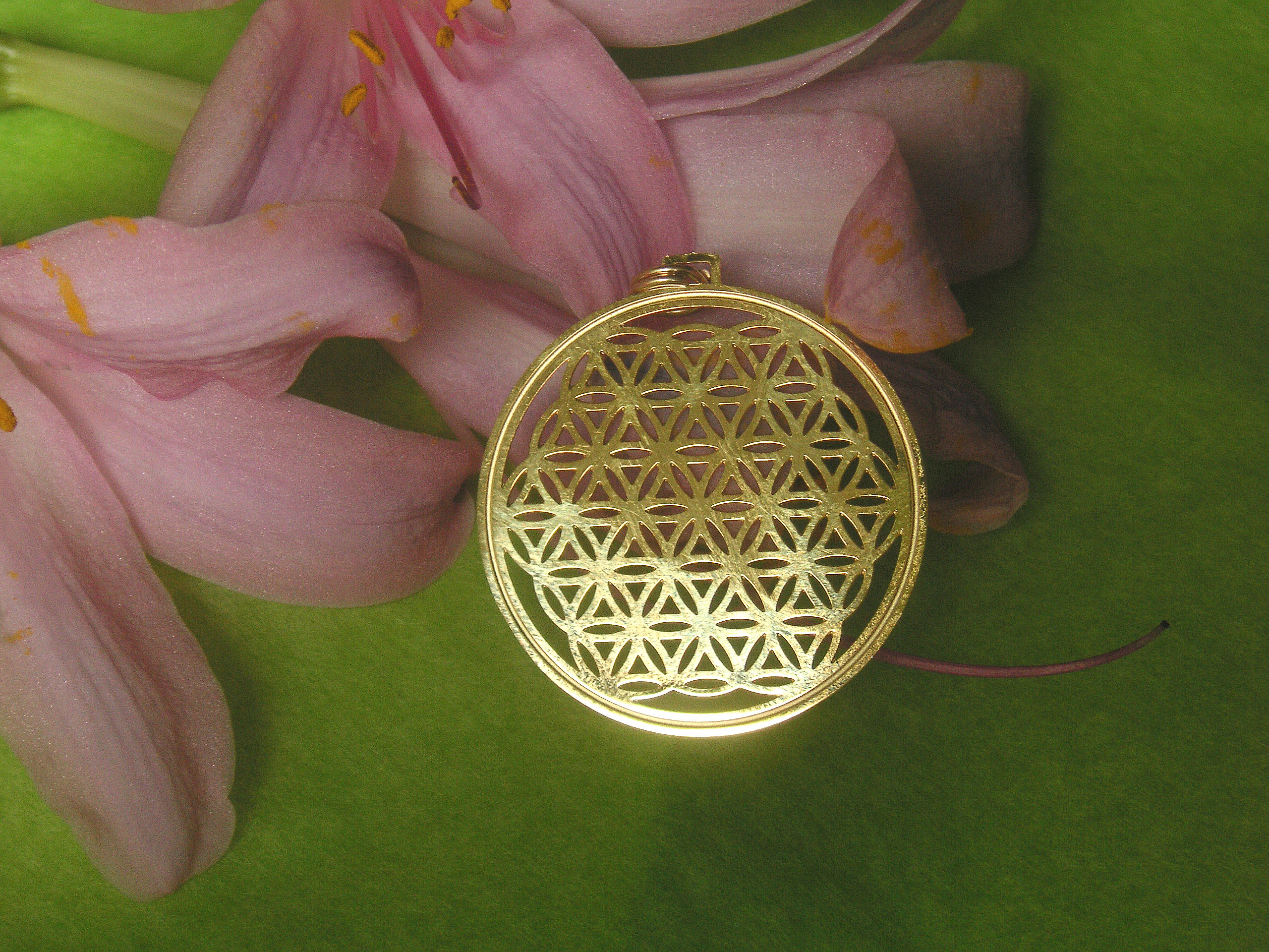 Flower of Life in Gold