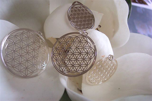 Flower of Life Silver Big Sizes