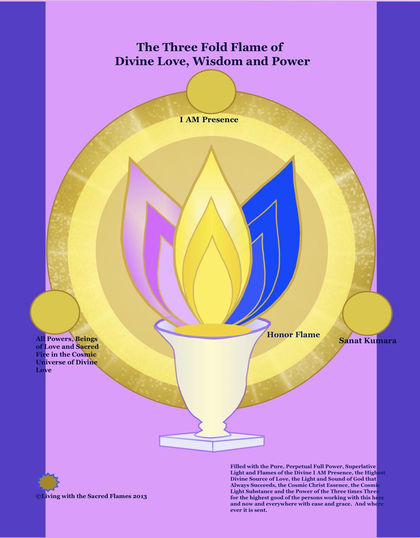 Sacred Flames - *ei3Marie-Three Fold